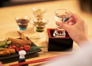 京町堀とかなの美味しい和食、日本酒