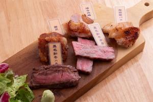 肉料理も!